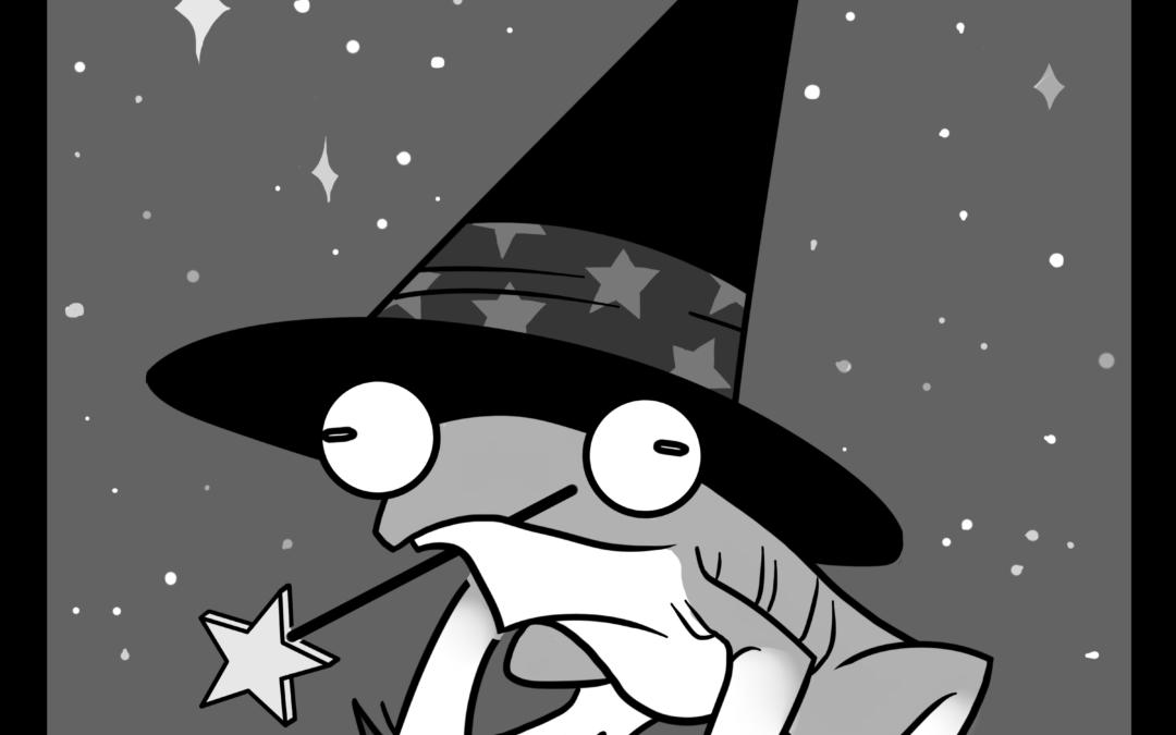 gare à la frog witch